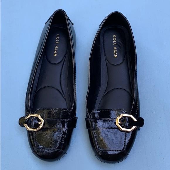 Cole Haan Shoes | Black Demi Patent
